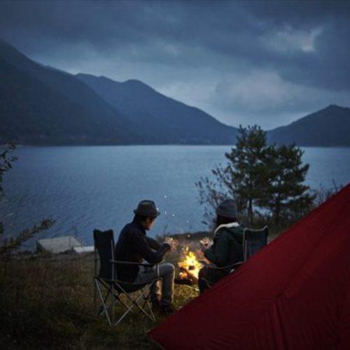 お山のテントサイト
