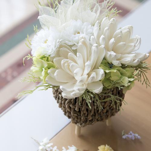 【6月】ソラフラワーで作るインテリア仏花