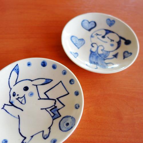 夏休み絵付け体験~ジャパンブルーで伝統絵付けに挑戦
