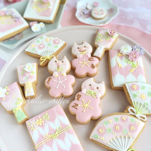 2019年1月 お正月アイシングクッキー