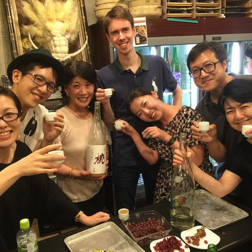 All-you-can-drink Japanese sake workshop