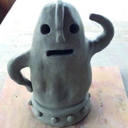 陶器で作る貯金箱(子供用)