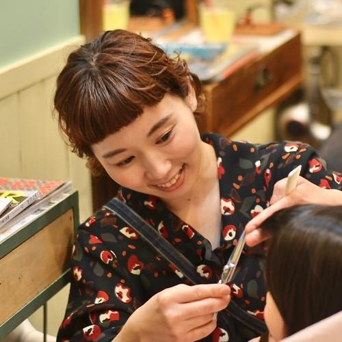 5.16\こどもHAIRサロンが蔦屋書店に/ おうちでできる、前髪カット講座(ビーハイブデラックス)