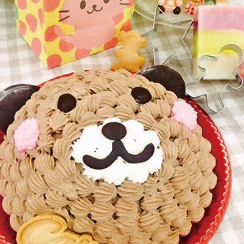 ■12月親子・子どもレッスン Xmasくまちゃんケーキ