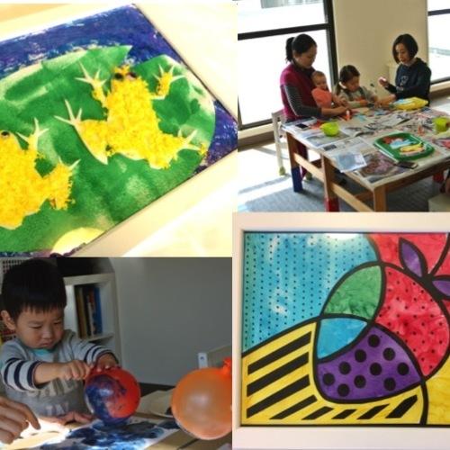 [2歳] 飾れる作品を造ろう!Babyアート☆Shapes(形)