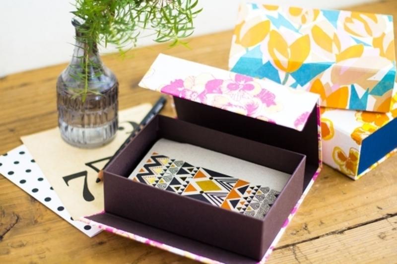 【紙博 in 京都】BOX&NEEDLE「マグネット留めのレターボックスをつくろう」