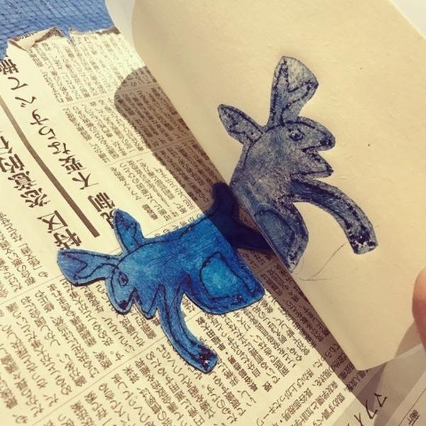 【イラストレーション・フェスティバル】平澤まりこさんと紙版画を体験しよう!