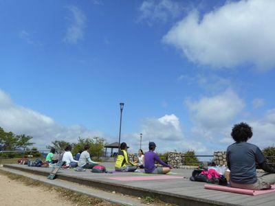 Aromaと山yoga