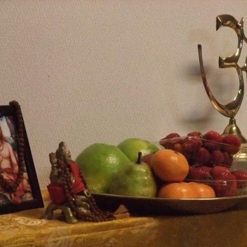 秋の祝日はヴェーダーンタ三昧