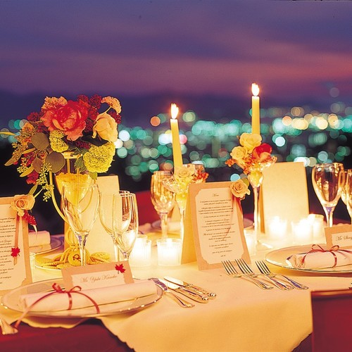 【プロポーズプラン】 夜景を眺めながらお二人だけの特別なひとときを・・・(フルコース)