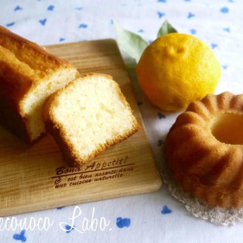 【柚子と日本酒のパウンドケーキ&抹茶のパウンドケーキ】