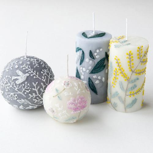 【オーダーメイドの日week1】nuri candle「ウェディング用キャンドルオーダー」