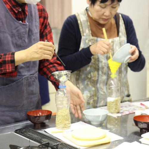 ひがしみの里山博覧会「シャカシャカ作ろう!マイ醤油」 in 恵那文化センター