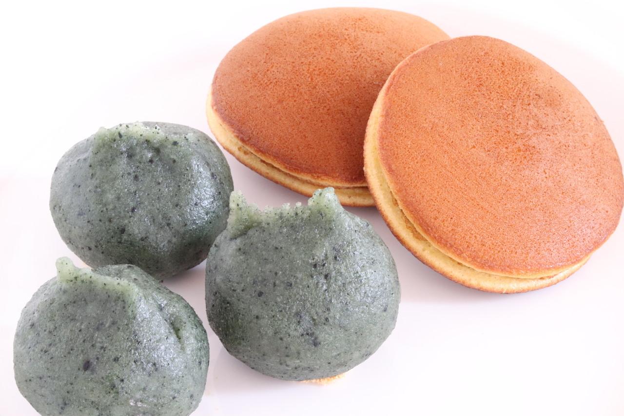 おうちで簡単!和菓子作り 草餅・どらやき