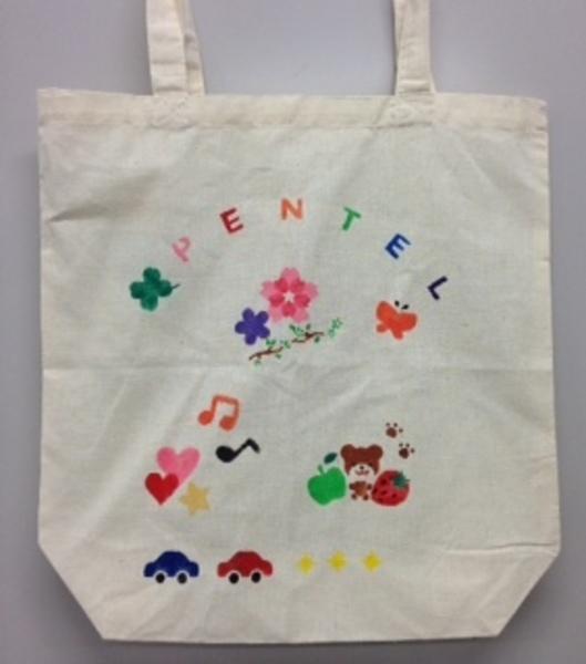 7月25日(火)「布描きえの具でマイバッグを作ろう」¥500+税
