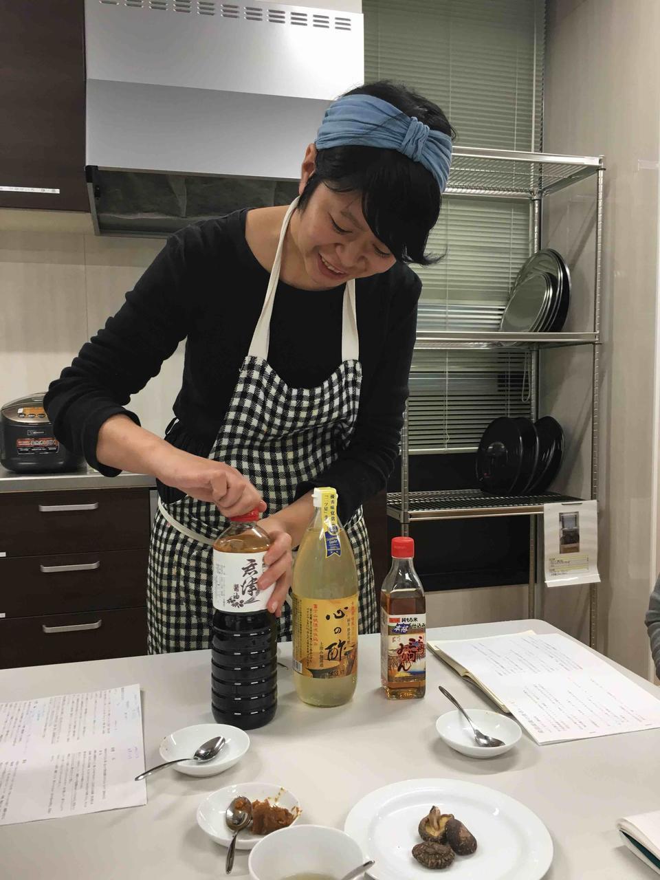 【満席御礼】~レシピのない料理教室~「味のベースをつくる台所調味料」「お砂糖を使わない産後にうれしいお菓子」