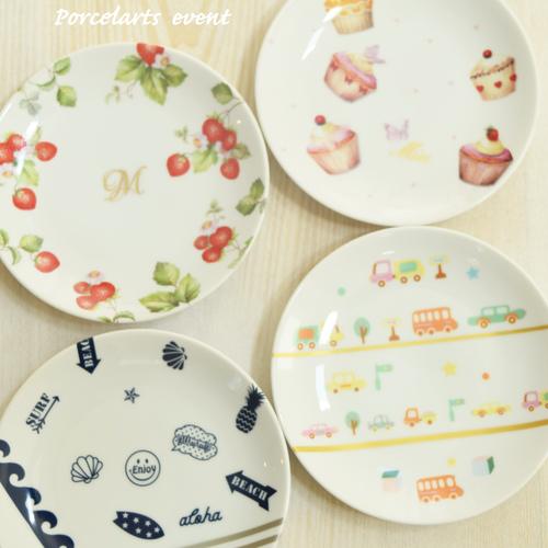ママのポーセラーツ教室~オリジナル食器を作ろう~