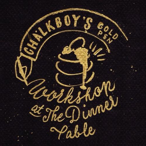 【自由が丘】CHALKBOY'S GOLD PEN WORKSHOP at The Dinner Table