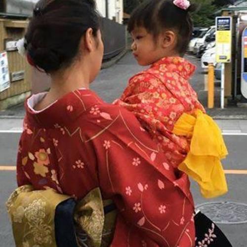 レンタル着物 着付け・草履バック・簡単ヘアアレンジ含)