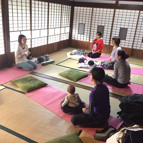 【若宮荘】プレママ・産後ママのためのヨガ教室