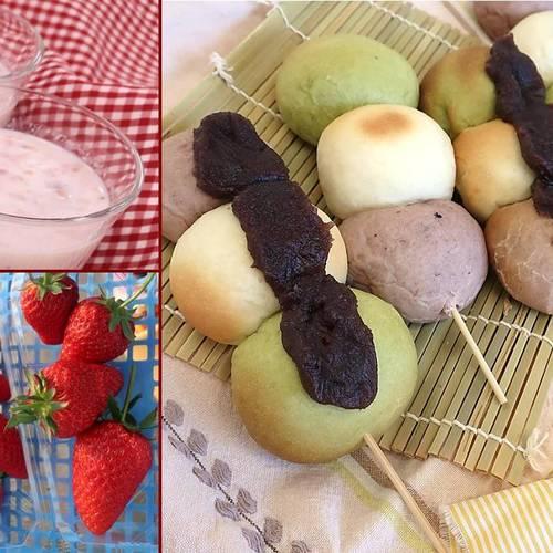 【ひな祭り企画】 3色ミルクパンを作ろう(いちご収穫付)