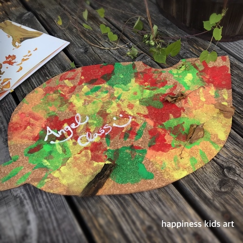 11月Angel Class「 小さい秋み~つけた!秋色アートで遊ぼう♪」