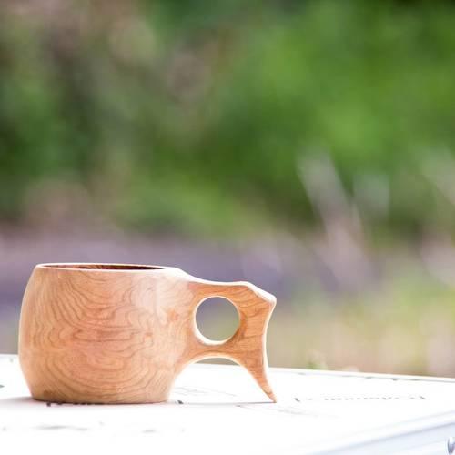 【5/19 キャンピクニック限定ワークショップ】オリジナル木のマグカップ「ククサ」をつくろう!