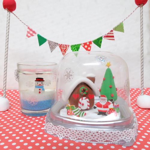 クリスマスクレイ&シール教室