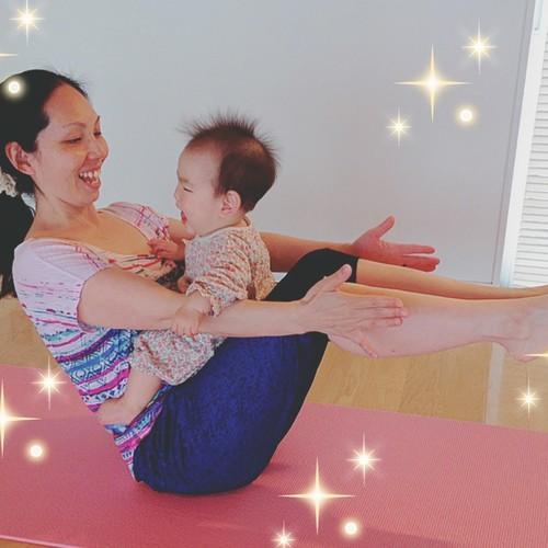 ママ&ベビーのヨガ教室