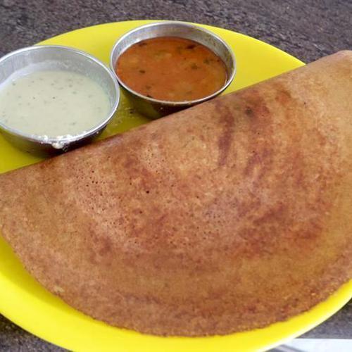 南インド料理 ドーサと野菜カレー