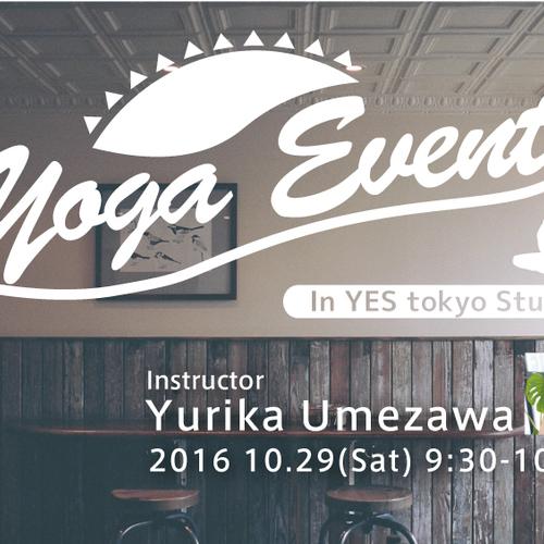 10/29(土)YES TOKYO Studio YOGAワークショップ