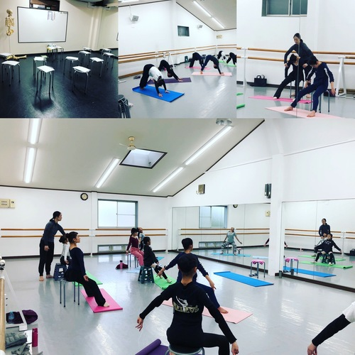 4/14「亀田晴美ジャイロキネシス&バレエ」MOVEプチセミナーNo4