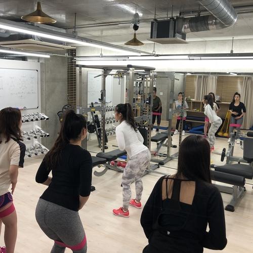 桃尻グループトレーニング