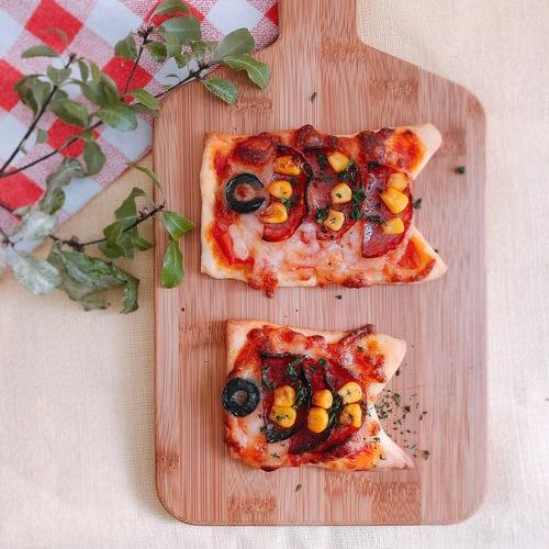 【GW】こいのぼりピザ