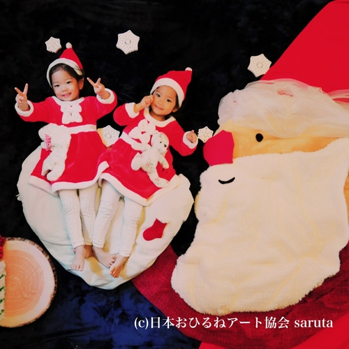 ★無料★11/16★豊洲とびきりかわいいクリスマスおひるねアート撮影会