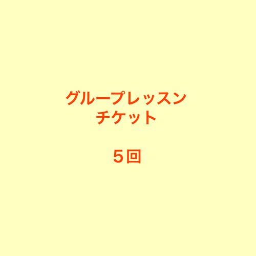 カード払い【チケット 5回 (90日間有効)】