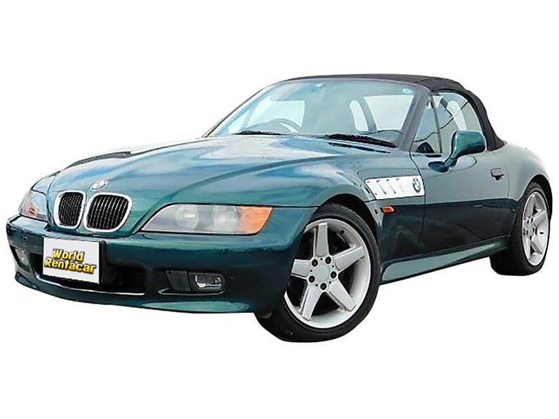 BMW Z3 オープンカー グリーン(右ハンドル)