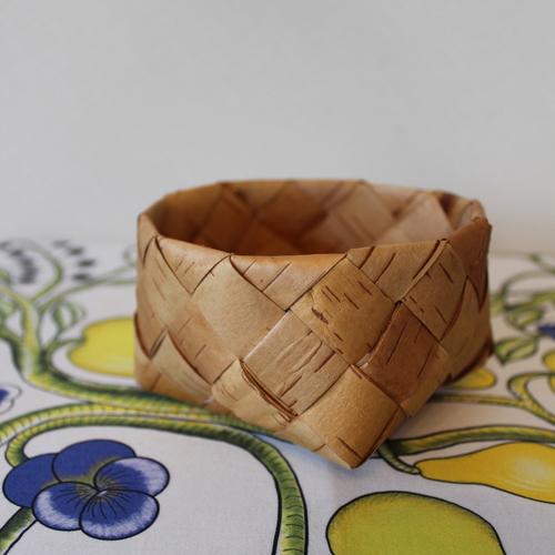 【湖畔の北欧市】Bror〈白樺かご作り〉「北欧伝統工芸ネーベルスロイド(白樺ハンドクラフト)を体験しましょう」