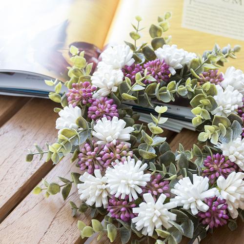 【9月】ソラフラワーで作る秋の花かんむりリース