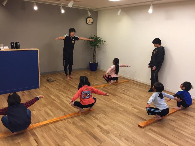 体幹トレーニング(1-3年生)