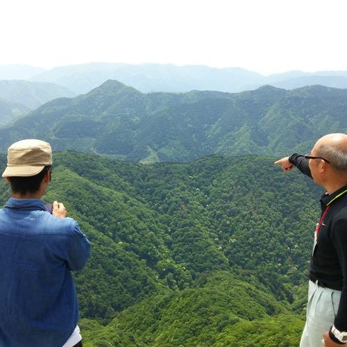 木地師のふるさと「天狗堂」登山ツアー