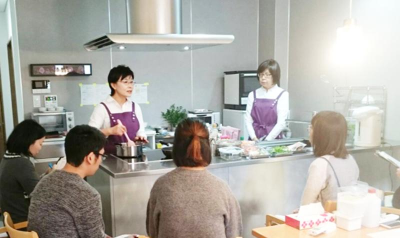 産前.産後の料理教室
