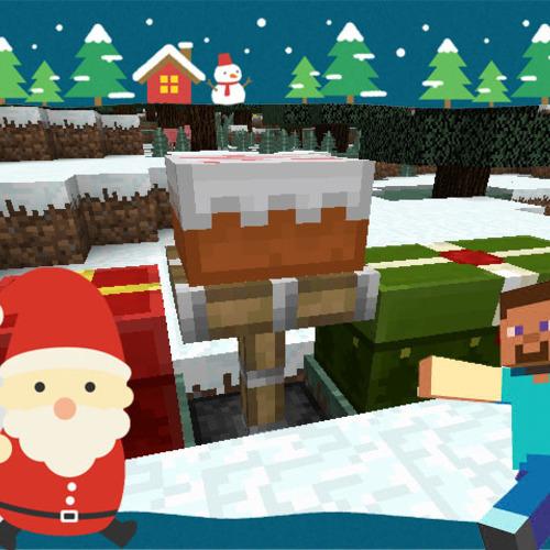 Minecraftクリスマスコンクール