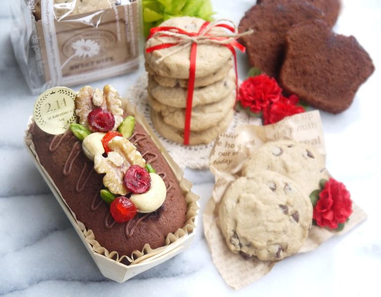 【 Valentine's Day Gluten-free Baking!! 〜バレンタインの米粉焼き菓子ギフト〜】