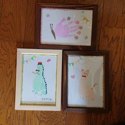 手形アートでお子さまの成長記録を!