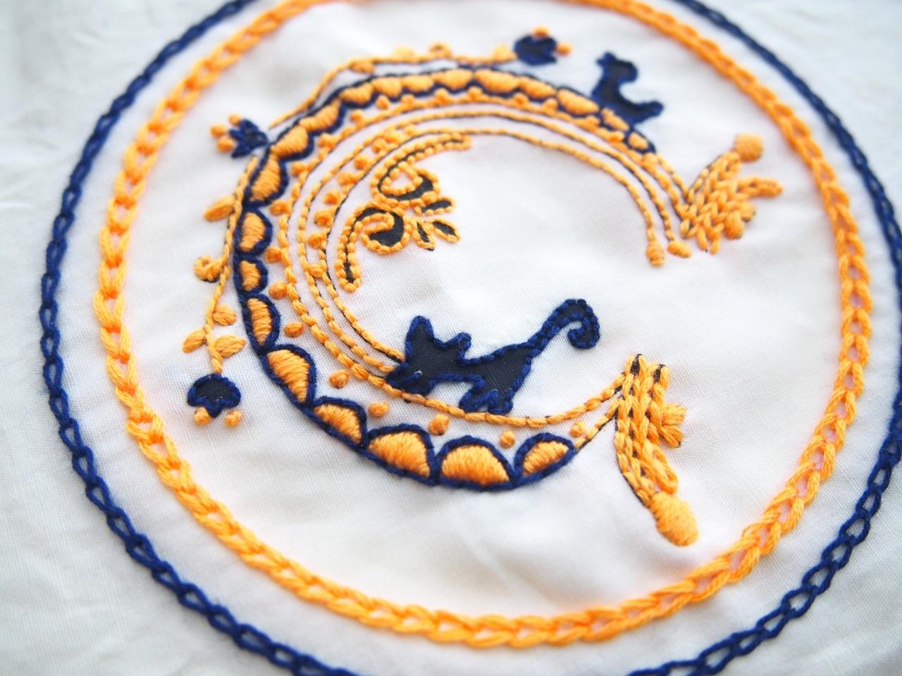 「刺繍CAFE」at EDiTORS 10/28(日)