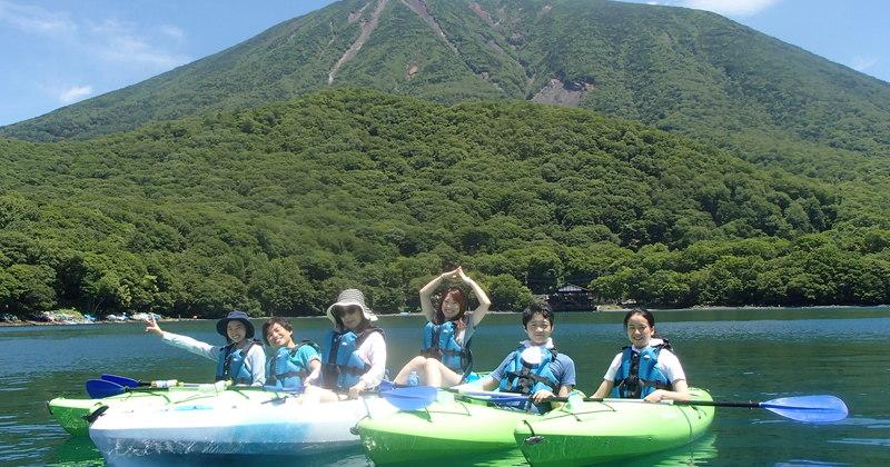 中禅寺湖カヌーピクニック 2.5時間