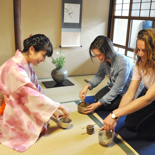Tea Ceremony Experience in Kyoto Townhouse