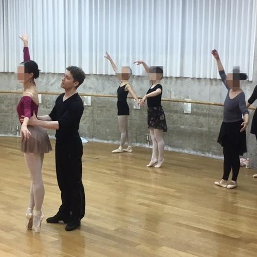 2018-2019 年末年始特別クラス グリゴリー・バリノフ 先生「Balance & Shape 」