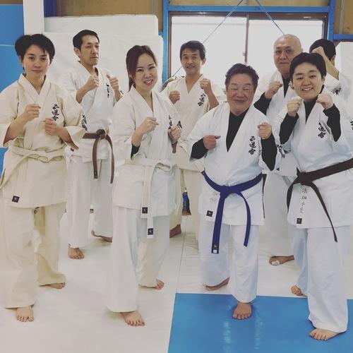 《岸和田》🥋🔰一般部朝空手クラス